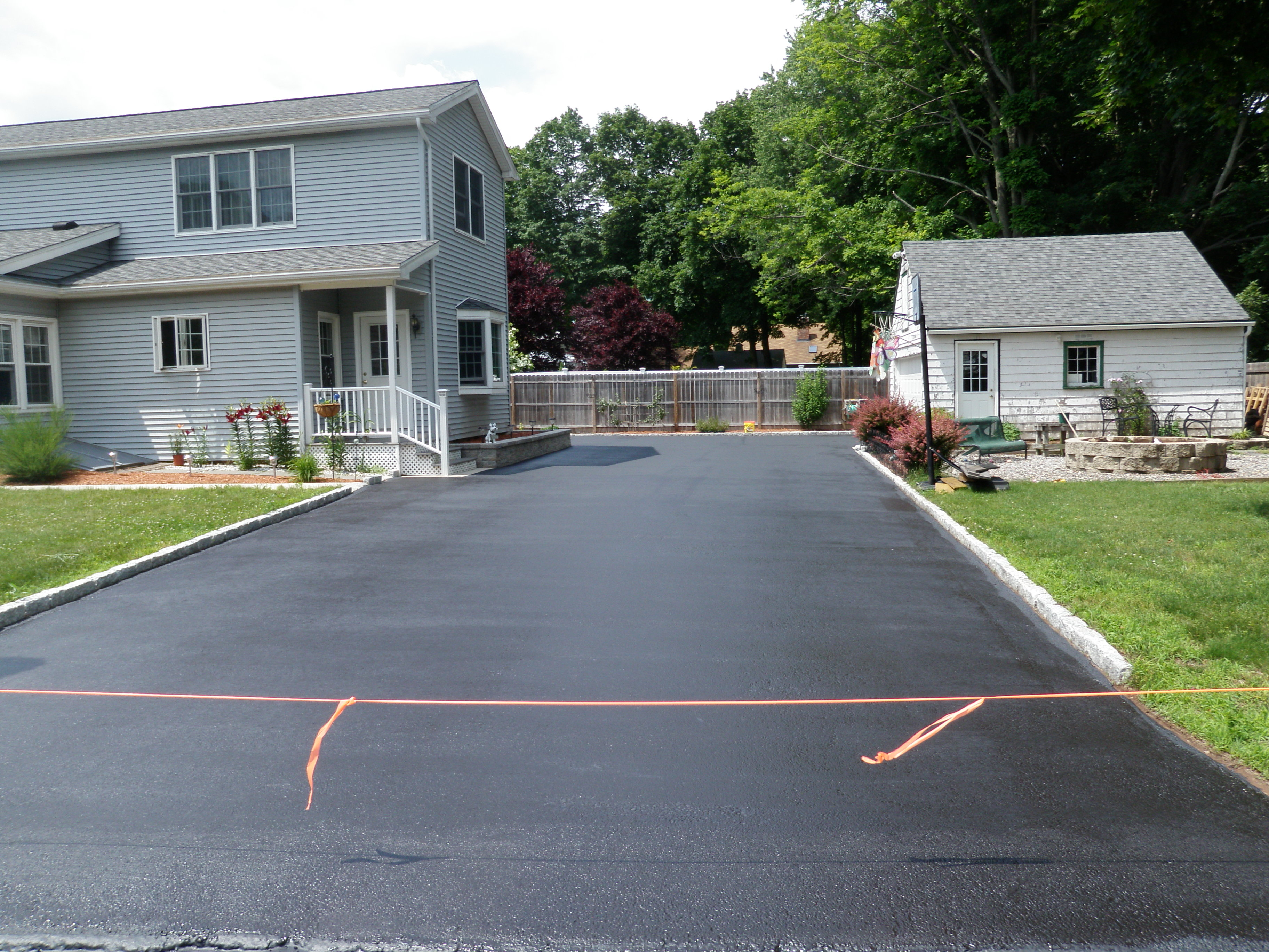 Small Driveway Sealing in CT